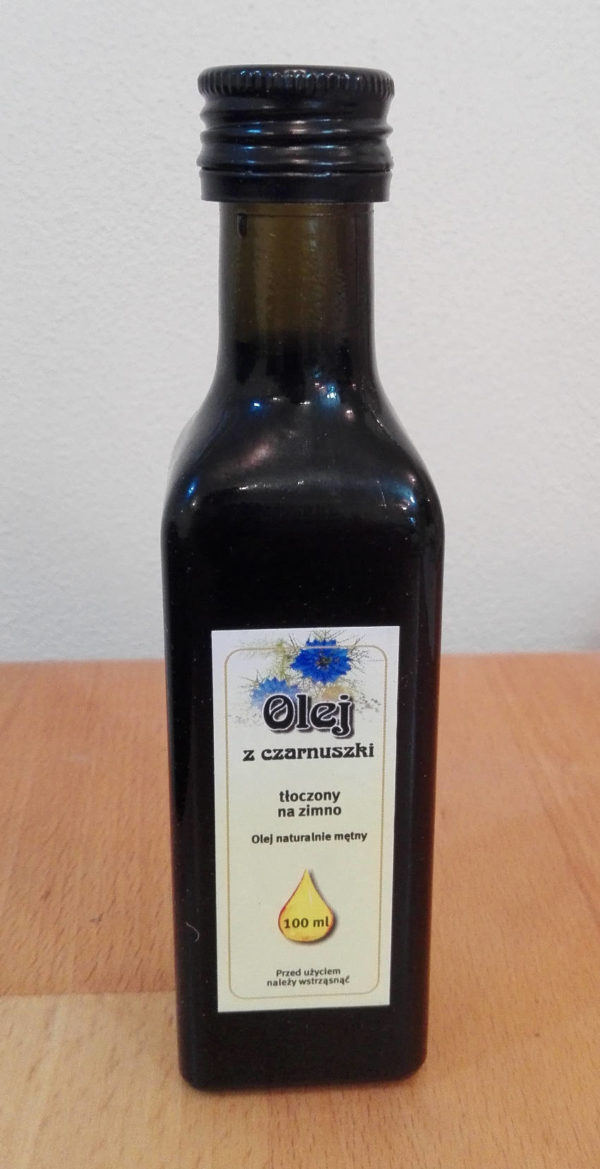 Černucha setá - olej