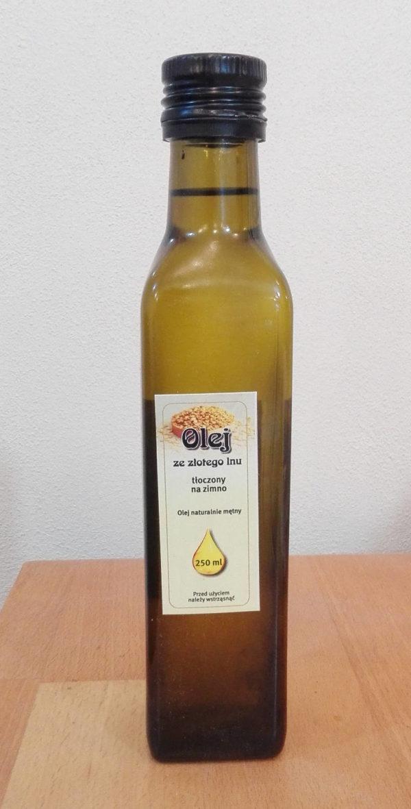 Olej ze zlatého lnu